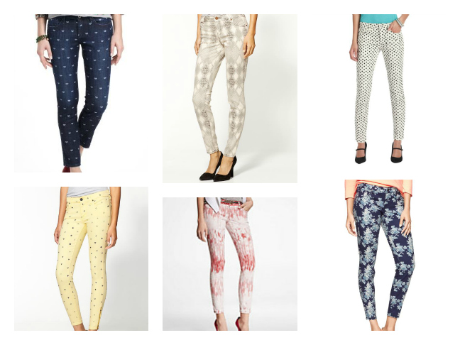 Shopping: Printed Denim