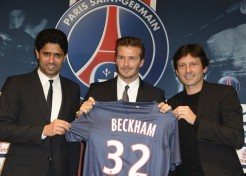 David Beckham Signs With Pars Saint-Germain Soccer Team; Donating Salary To Charity!
