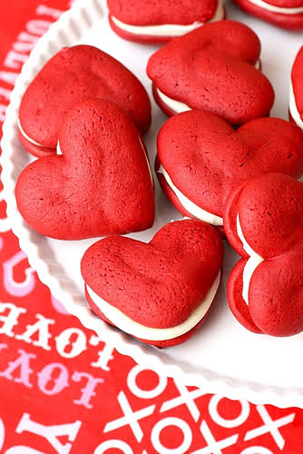 Red Velvelt Whoopie Pies