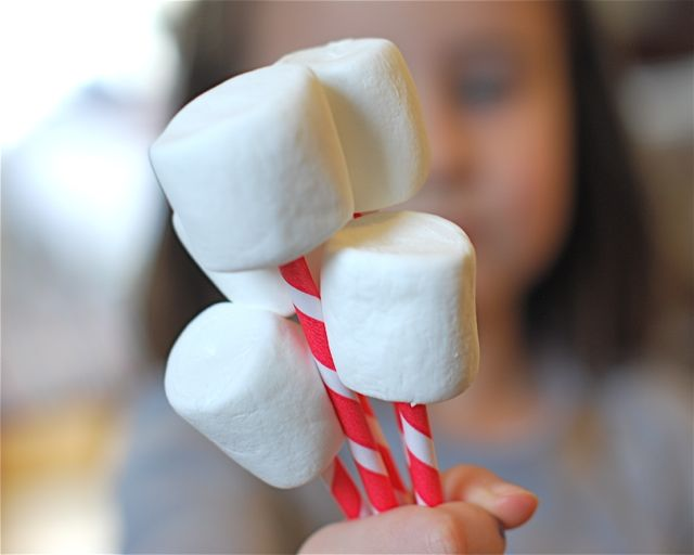Marshmallow Bouquet - Step 1