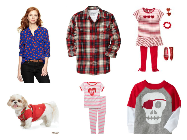 Valentine S Day Outfits For The Whole Family