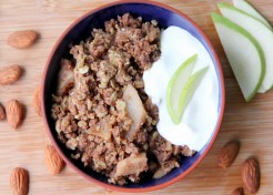 Pear-Ginger Crisp Recipe