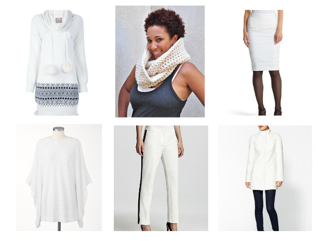 Shopping for Winter White Outfits