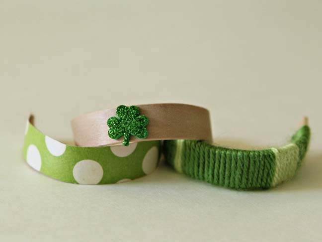 green craft bracelets