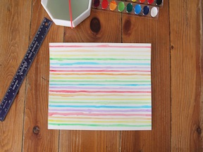Rainbow Placemat DIY - Step 3
