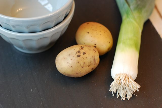 Potato Leek Soup Recipe - Ingredients