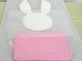 Easter Bunny Cake Recipe - Step 14