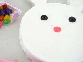 Easter Bunny Cake Recipe - Step 15