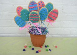 Easter Egg Cookie Bouquet Recipe