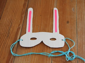 Easter Bunny Mask DIY