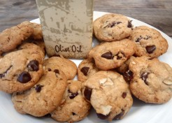 Mediterranean-Style Olive Oil Chocolate Chip Cookies