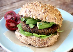 Black Lentil Pumpkin Burgers Recipe