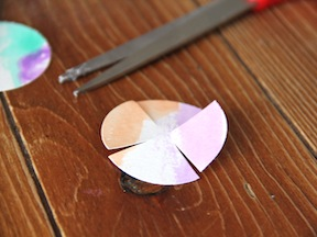 Paper Flowers DIY - Step 3