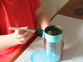 Bird Feeder Spring Craft - Step 1