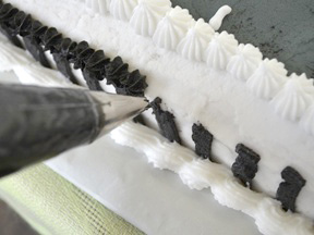 Race Car Cake Recipe - Step 17