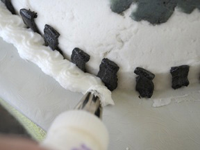 Race Car Cake Recipe - Step 15