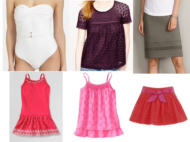 Eyelet Outfits for Spring