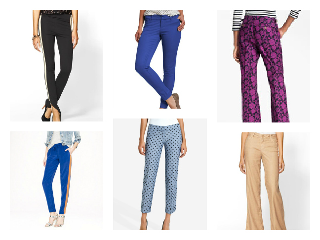 Shopping - Spring Pants
