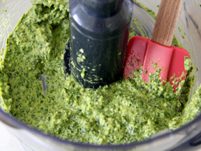 Swiss Chard Pesto Recipe - Step 3A