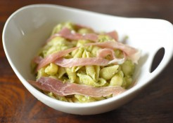Asparagus Pesto and Prosciutto Pasta Shells Recipe
