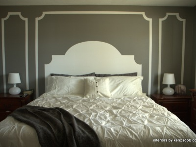 ainted Headboard