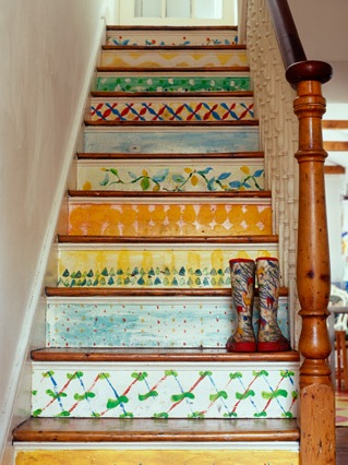 Painted Artwork Stairs
