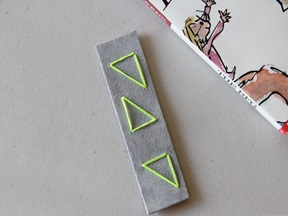 Leather Bookmark Craft - Step 5