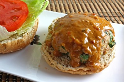 Peanut Butter Burger