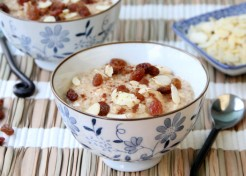 Cinnamon Brown Rice Pudding