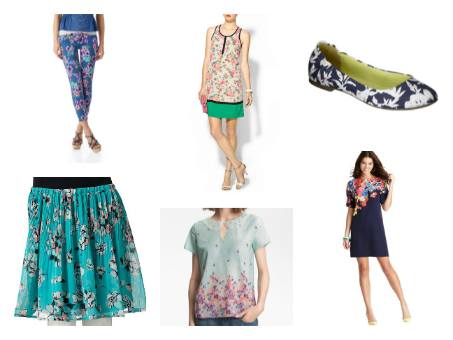 Floral Prints - Women's Fashion