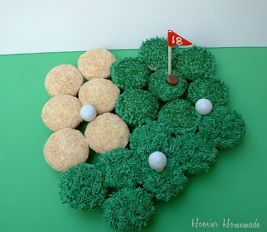 GOlf Cupcakes - Father's Day