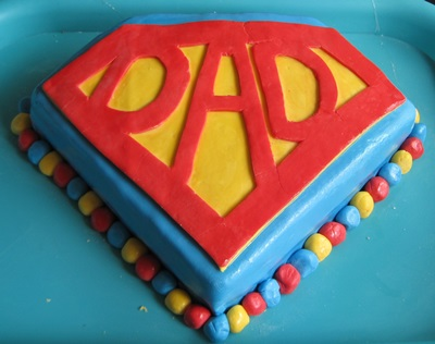 Super Dad Cake - Father's Day