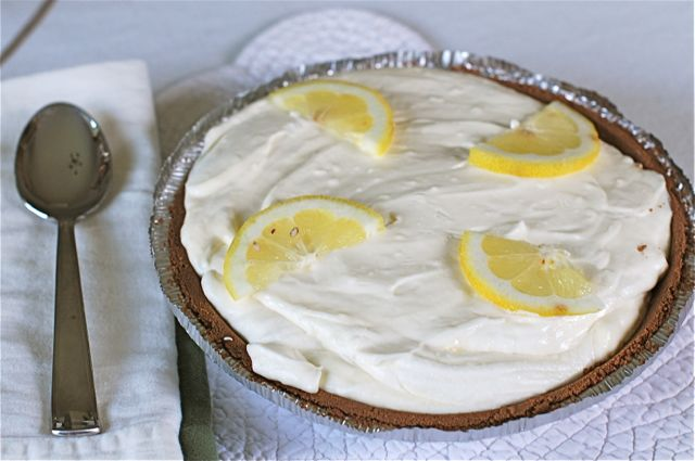 Lemonade Ice Box Pie Recipe