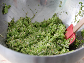 Broccoli Pecorino Fritters Recipe - Step 4A