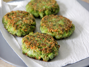 Broccoli Pecorino Fritters Recipe - Step 6
