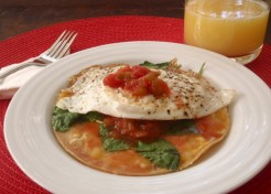 Breakfast Egg Tostada