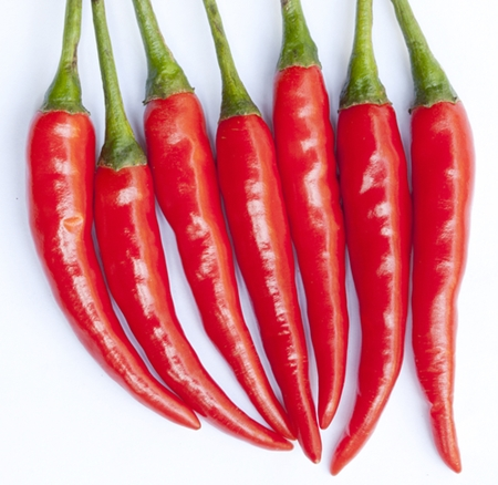 Pesticides in Hot Peppers