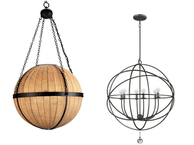 5 Orb Chandeliers For Every Home