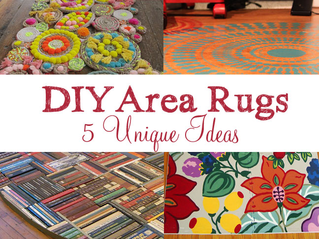 5 Diffe Colorful Homemade Rugs