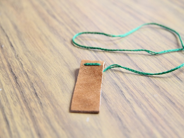 DIY: Leather Key Fob
