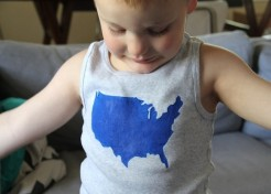 DIY: Patriotic USA Tee Shirt