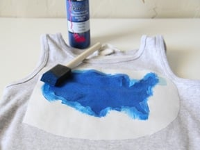 Patriotic T-Shirt DIY - Step 3