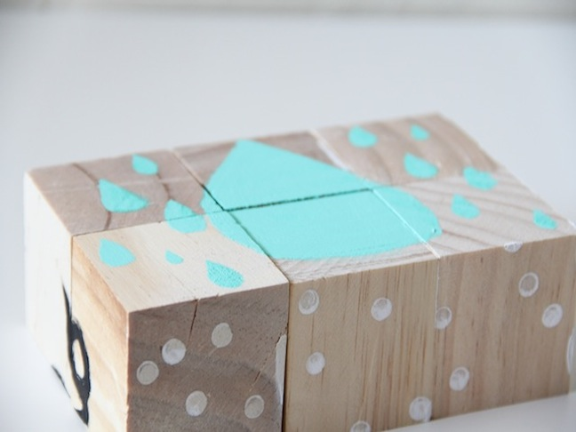 DIY Puzzle Blocks Craft