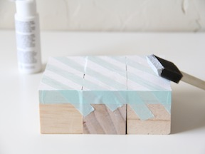 DIY Puzzle Blocks Craft - Step 2