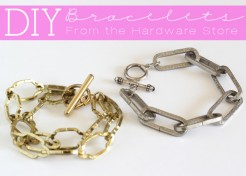 DIY: Bracelets From The Hardware Store