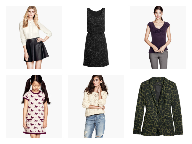 H&M Retail Website