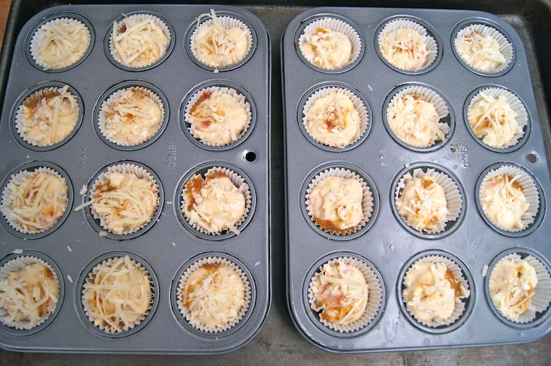 Ham and Cheese Mini Muffins - Step 7B