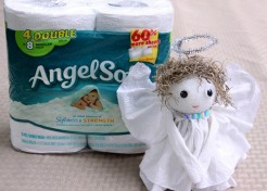 DIY: Toilet Tissue Angel