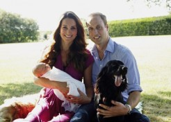New Royal Baby Family Photos Have Some Criticizing Their Quality
