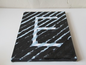DIY Monogram Art - Step 4